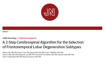 A novel approach to identify neuropathological Frontotemporal Lobar Degeneration subtypes